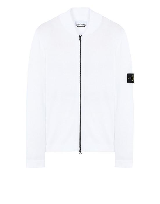 STONE ISLAND 519B3 Sweater Man White