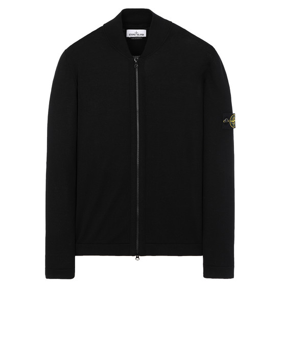 STONE ISLAND 519B3 Sweater Man Black
