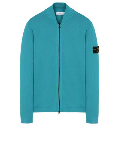 STONE ISLAND 519B3 Sweater Man Turquoise USD 415