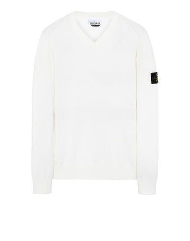 STONE ISLAND 547B2 Sweater Man Ivory USD 177