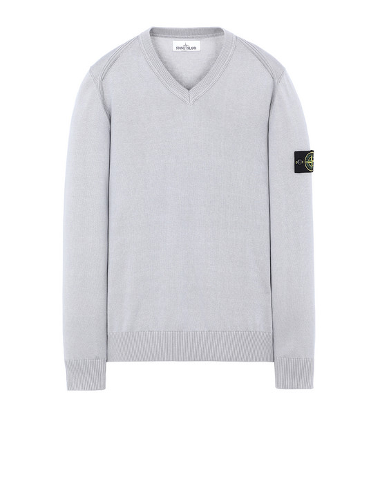 STONE ISLAND 547B2 Sweater Man Dust Grey