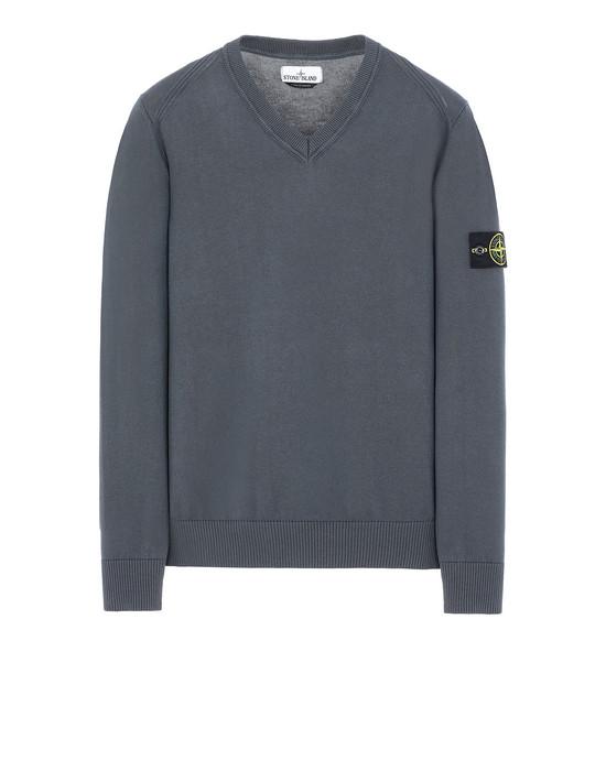STONE ISLAND 547B2 Sweater Man Blue Grey