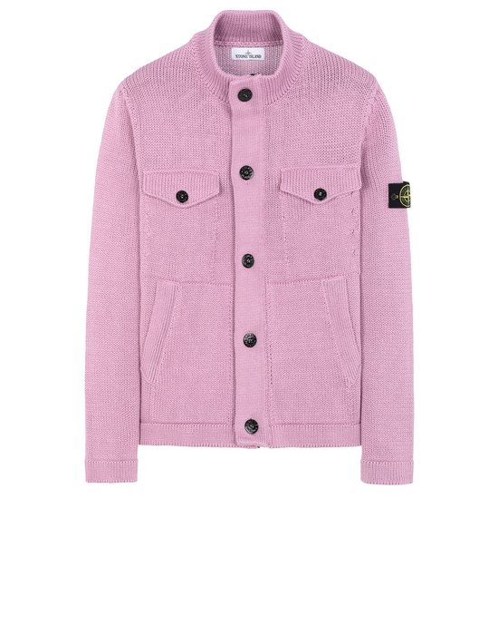 STONE ISLAND 544D4 Sweater Man Pink Quartz