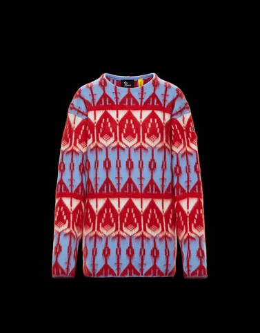 CREWNECK Multicoloured 3 Moncler Grenoble Woman