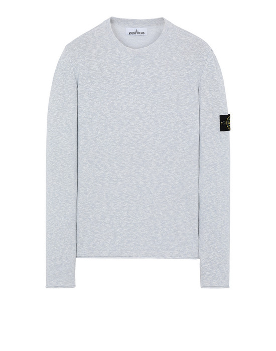 STONE ISLAND 502B0 Sweater Man Baby Blue