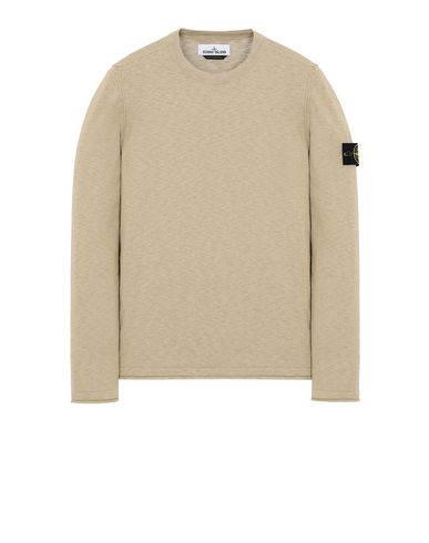 STONE ISLAND 502B0 Sweater Man Dark Beige USD 186
