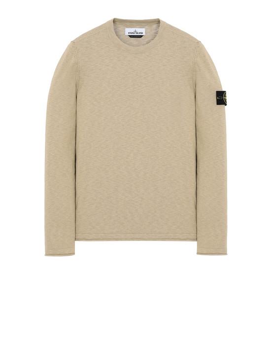 STONE ISLAND 502B0 Sweater Man Dark Beige