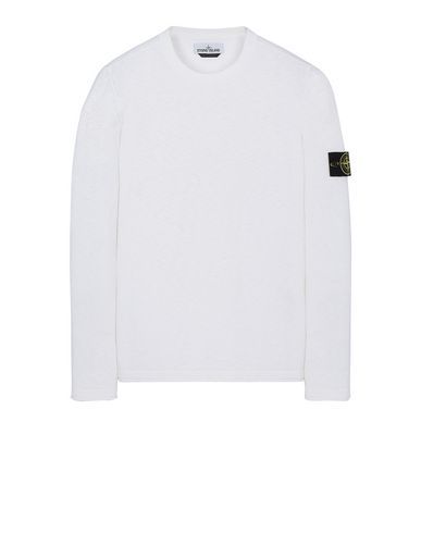 STONE ISLAND 502B0 Sweater Man White EUR 235