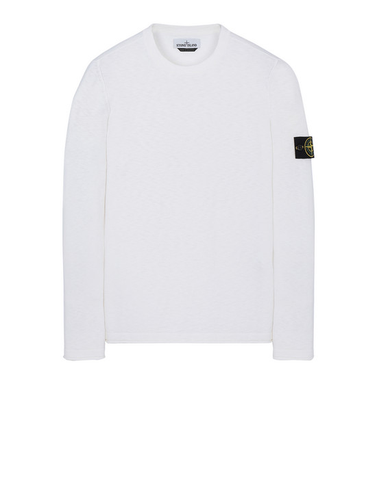 STONE ISLAND 502B0 Sweater Man White