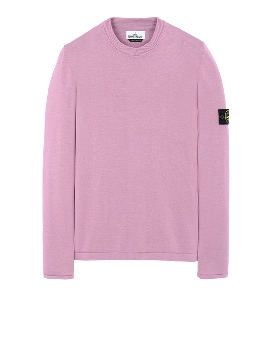 STONE ISLAND 517B3 Sweater Man Pink Quartz