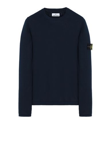 STONE ISLAND 517B3 Sweater Man Marine Blue USD 360