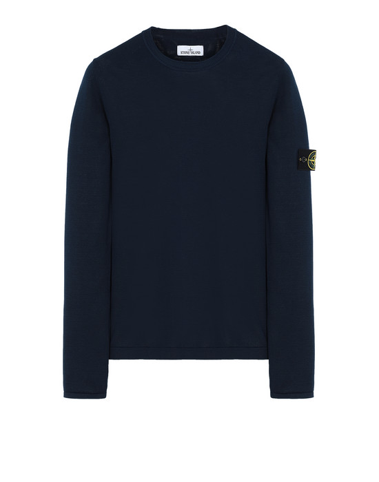 STONE ISLAND 517B3 Sweater Man Marine Blue
