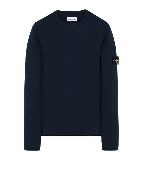 STONE ISLAND 517B3 Sweater Herr Marineblau