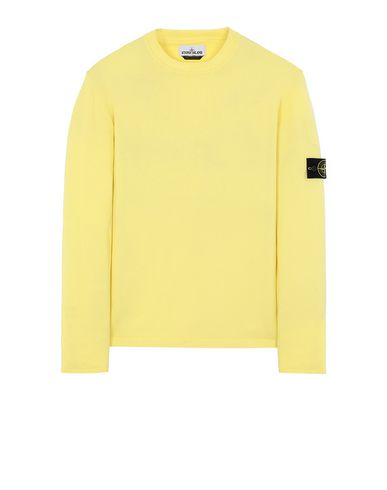 STONE ISLAND 517B3 Sweater Man Lemon EUR 144