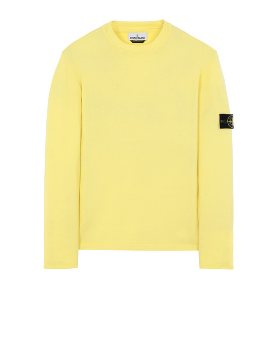 STONE ISLAND 517B3 Sweater Man Lemon