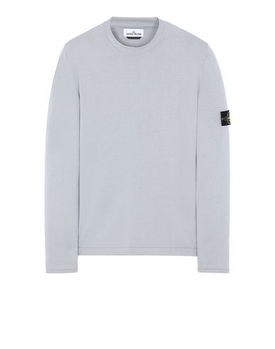 STONE ISLAND 517B3 Sweater Man Dust Grey EUR 285