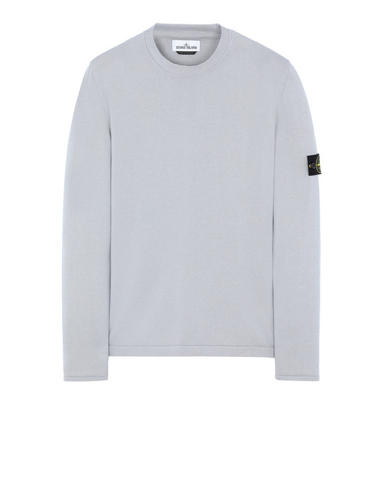STONE ISLAND 517B3 Sweater Man Dust Grey