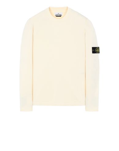 STONE ISLAND 517B3 Sweater Man Beige USD 249