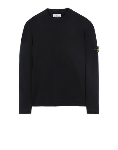 STONE ISLAND 517B3 Sweater Man Blue EUR 275