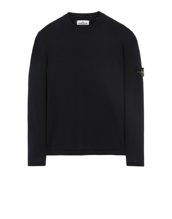 STONE ISLAND 517B3 Sweater Man Blue