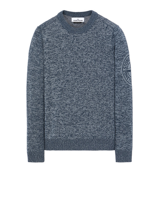 STONE ISLAND 564D7 Sweater Man Marine Blue