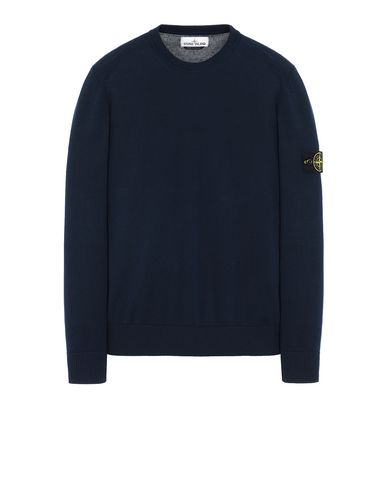 STONE ISLAND 510B2 Sweater Man Marine Blue USD 155