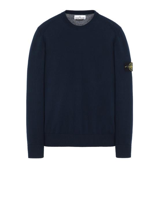 STONE ISLAND 510B2 Sweater Man Marine Blue