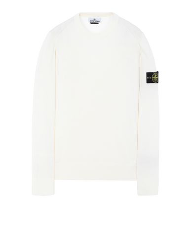 STONE ISLAND 510B2 Sweater Man Ivory USD 155