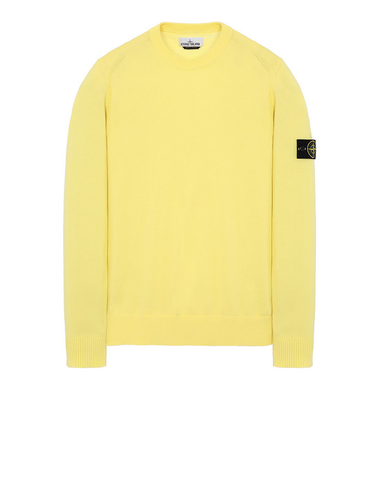 STONE ISLAND 510B2 Sweater Man Lemon