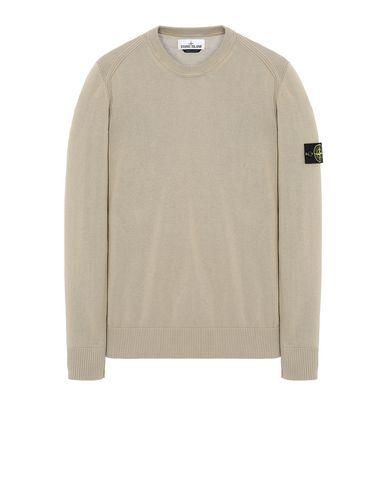 STONE ISLAND 510B2 Sweater Man Dark Beige EUR 156