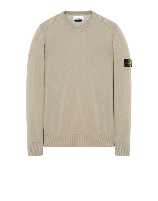 STONE ISLAND 510B2 Sweater Man Dark Beige