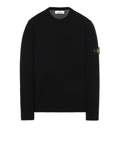 STONE ISLAND 510B2 Sweater Man Black USD 158
