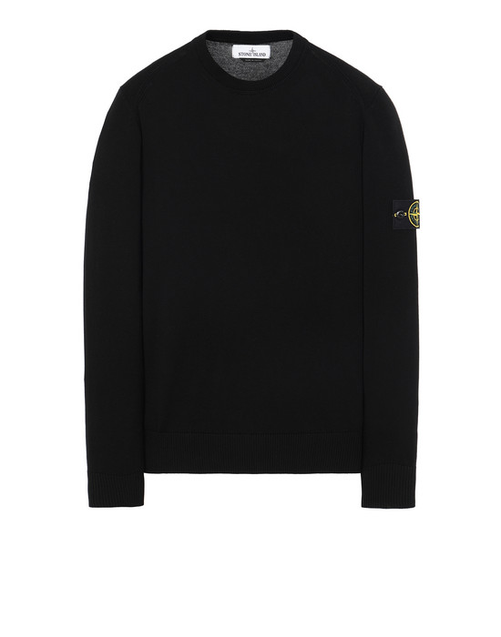 STONE ISLAND 510B2 Sweater Man Black
