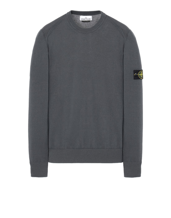 STONE ISLAND 510B2 Sweater Man Blue Grey