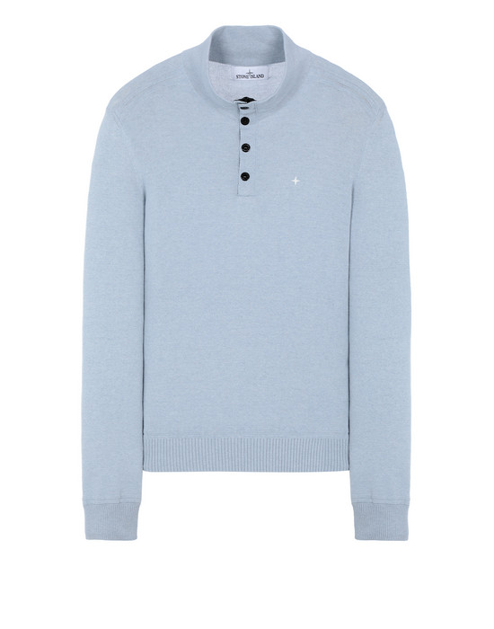 STONE ISLAND 508D3 Sweater Man Baby Blue