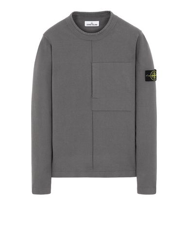 STONE ISLAND 512D2 Sweater Man Blue Grey EUR 349