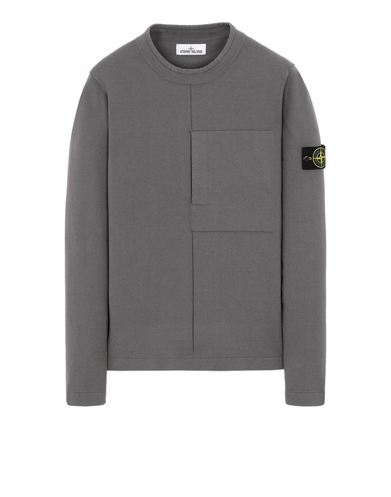 STONE ISLAND 512D2 Sweater Man Blue Grey