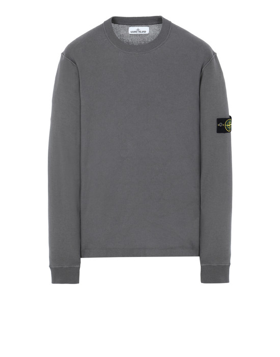 STONE ISLAND 554D5 Sweater Man Blue Grey