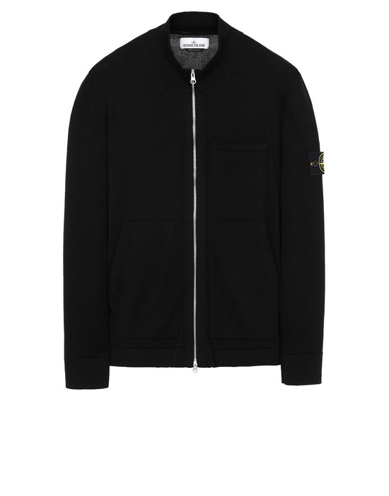 STONE ISLAND 526B2 Sweater Man Black