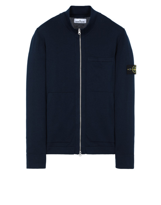 STONE ISLAND 526B2 Sweater Man Marine Blue