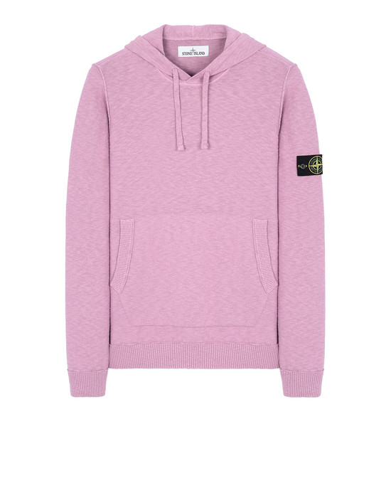 STONE ISLAND 505B0 Sweater Man Pink Quartz