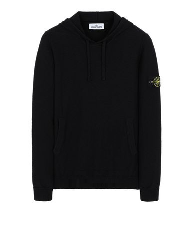 STONE ISLAND 505B0 Sweater Man Black EUR 204