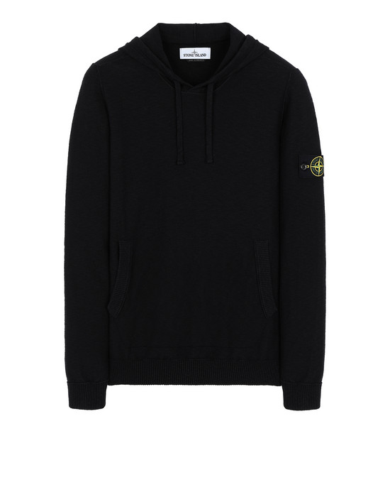 STONE ISLAND 505B0 Sweater Man Black