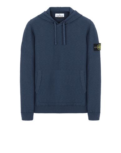STONE ISLAND 505B0 Sweater Man Marine Blue USD 232