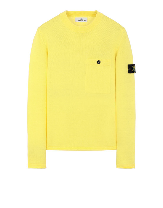 STONE ISLAND 545D4 Sweater Man Lemon