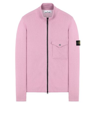 STONE ISLAND 504B9 Sweater Man Pink Quartz USD 217