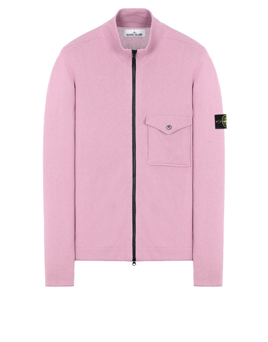 STONE ISLAND 504B9 Sweater Man Pink Quartz