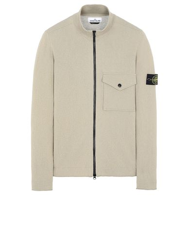 STONE ISLAND 504B9 Sweater Man Dark Beige USD 279