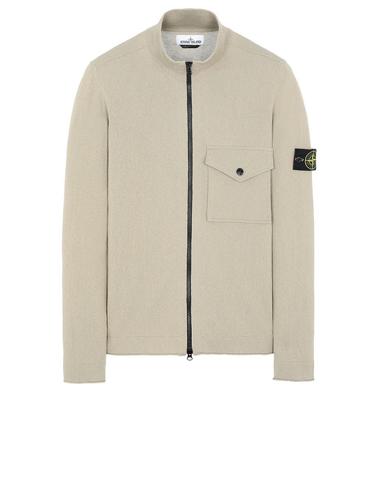 STONE ISLAND 504B9 Sweater Man Dark Beige
