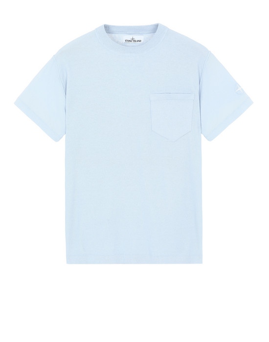 STONE ISLAND 553D5 Sweater Man Pale Blue